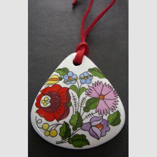 Porcelán medál